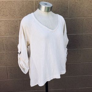 Splendid Women's 3/4 Sleeve Top/Shirt
